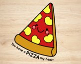 You have a pizza my heart