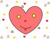 Corazón contento