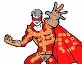 Superhéroe enmascarado