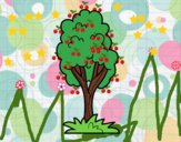 Un árbol de parque