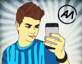Abraham Mateo selfie