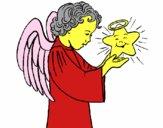 Ángel y estrella
