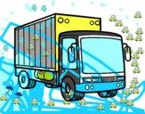 Camión de mercancias