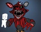 Foxy terrorífico de Five Nights at Freddy's