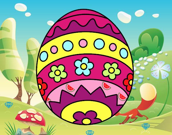 Huevo de Pascua DIY
