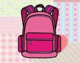 Una mochila escolar