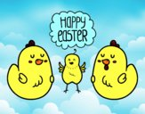Unas gallinas de Pascua