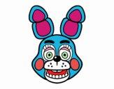 Cara de Toy Bonnie de Five Nights at Freddy's