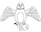Dibujos de guilas para Colorear  Dibujosnet