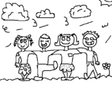 Dibujo de Amigos