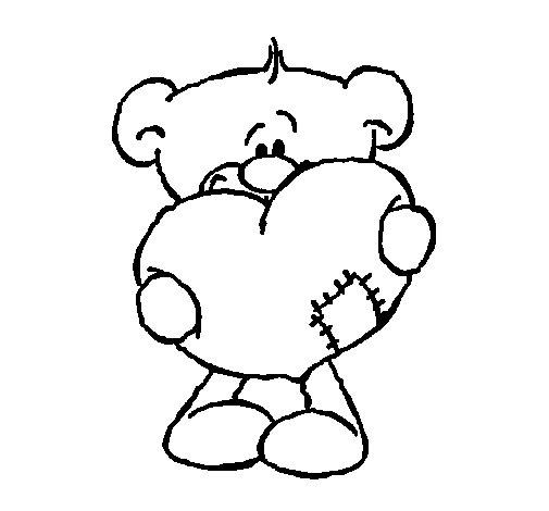 Dibujo de Amor II para Colorear