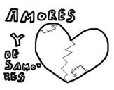 Dibujo de Amor IV para colorear