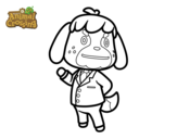 Dibujo de Animal Crossing: Candrés para colorear