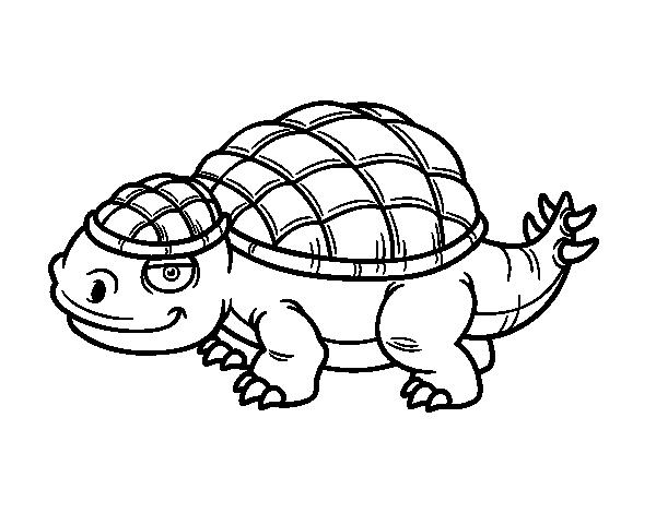 58 Dinosaurios Para Colorear Y Pintar Descargar E: Dibujo De Anquilosaurio Para Colorear