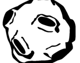 Dibujo de Asteroide para colorear