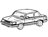 Dibujo de Automóvil clásico para colorear