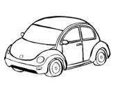 Dibujo de Automóvil moderno para colorear