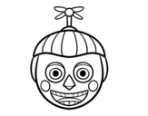 Dibujo de Balloon Boy de Five Nights at Freddy's para colorear
