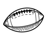 Dibujo de Balón de béisbol