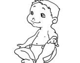 Dibujo de Bebe III