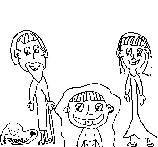 Dibujo de Beln para Colorear  Dibujosnet