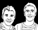 Dibujo de Big time Rush 2