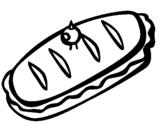 Dibujo de Bocadillo II para colorear