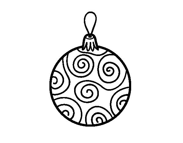 Bola De Navidad Decorada Png