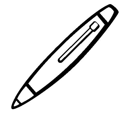 Dibujo de Bolígrafo para Colorear