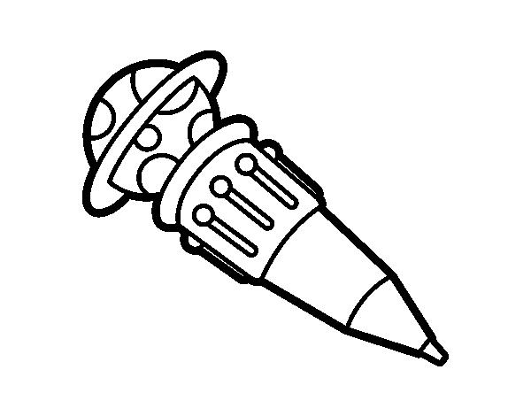 Dibujo De Bolígrafo Infantil Y Libreta Para Colorear: Dibujo De Bolígrafo Multicolor Para Colorear