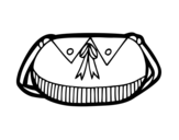 Dibujo de Bolso con lazo para colorear