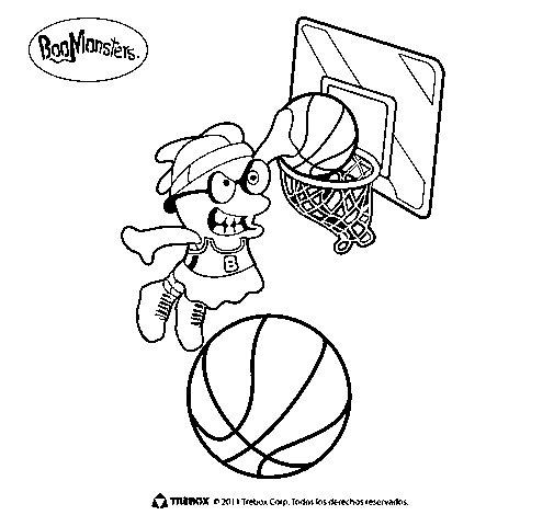 Dibujo de BooMonsters 5 para Colorear