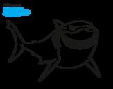 Dibujo de Buscando a Nemo - Bruce para colorear