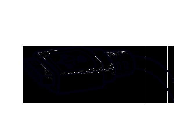 Dibujo de Cable USB para Colorear