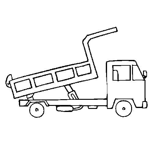 Dibujo de Camin de carga 2 para Colorear  Dibujosnet