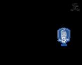 Dibujo de Camiseta del mundial de fútbol 2014 de Corea del Sur para colorear