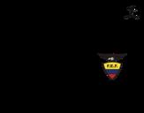Dibujo de Camiseta del mundial de fútbol 2014 de Ecuador para colorear