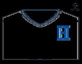 Dibujo de Camiseta del mundial de fútbol 2014 de Honduras para colorear