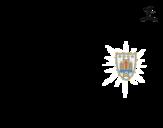 Dibujo de Camiseta del mundial de fútbol 2014 de Uruguay para colorear