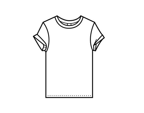 Image Result For Tee Shirt Coloring Page