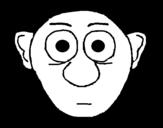 Dibujo de Cara sorprendida