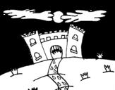 Dibujo de Castillo maléfico