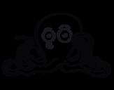 Dibujo de Cefalópodo