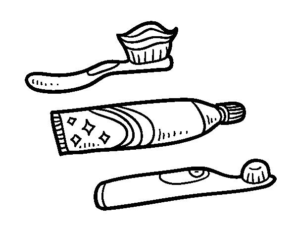 Dibujo Dientes Para Colorear E Imprimir