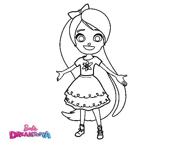 Dibujo de Chelsea Dreamtopia para Colorear