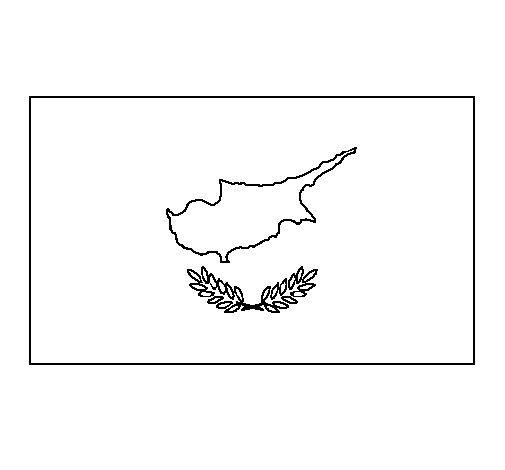 Dibujo de Chipre para Colorear