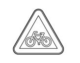 Dibujo de Ciclistas para colorear