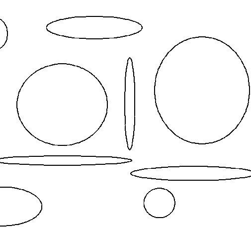 Dibujo de Círculos para Colorear