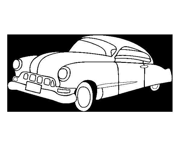 Dibujo de Coche viejo para Colorear  Dibujosnet