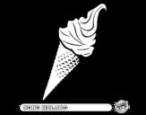 Dibujo de Cono helado